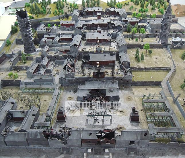 日军轰炸云居寺