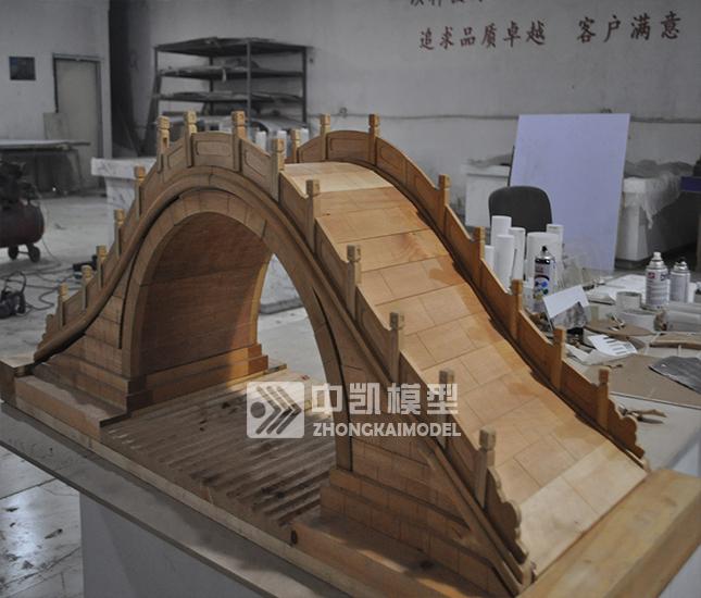 木桥承重模型制作图解