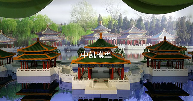 北京北方中凯注册送38彩金设计有限公司-五龙亭 1:20注册送38彩金